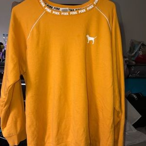 PINK- yellow long sleeve